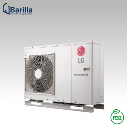9kW Air to Water LG Therma V R32 Monobloc